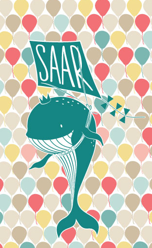 kite, whale, walvis, geboortekaart, birth card, indewolkjes, LindaHeijnen, lindaheijnen, in de wolkjes, kaart design, design, geboortekaart, kaart ontwerp, logo ontwerp, vormgeving, roosendaal,